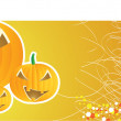 Halloween banner — Stockvectorbeeld