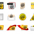 Stock Vector: Email icons