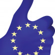 Royalty-Free Stock Vector Image: European hand giving ok