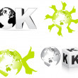 Ok design — Stock Vector