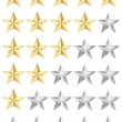 Rating stars - Stockvektor