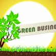Royalty-Free Stock Vector Image: Green business