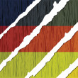 German flag wooden texture - Stock Vector