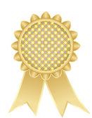 Golden medal — Stock Vector