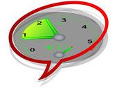 Tachometer - revving — Stock Vector
