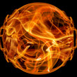 Fire ball — Stock Photo