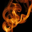 Abstract background colorful smoke — Stock Photo