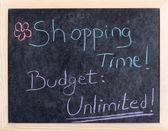 Alışveriş zamanı — Stok fotoğraf