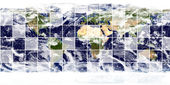 Earth image (source: visibleearth) — ストック写真