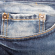 Jeans pocket — Stock Photo #8090106