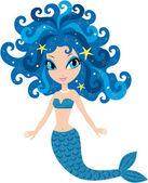 Mermaid cartoon — Stock Vector