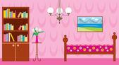 Obývací pokoj — Stock vektor