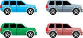 Jeep car — Stock Vector