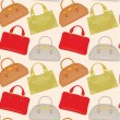 Seamless bags pattern — Stock Vector #8387268