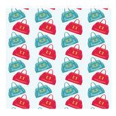 シームレス袋パターン — ストックベクタ