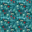 Royalty-Free Stock Vectorafbeeldingen: Seamless tropical pattern