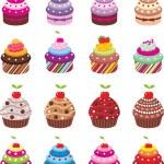 Cupcakes — Stock Vector #9472095