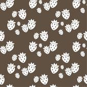 Seamless fruit pattern — Stock Vector