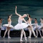 Russian royal ballet perform Swan Lake ballet — Stock Photo #7965187