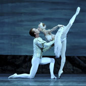 Swan lake ballet performed by russian royal ballet — Stok fotoğraf