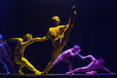 Modern dance show — Stock Photo