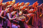 Chinesische modern dance drama — Stockfoto