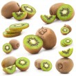 Collection of fresh kiwi — Stock Photo #8454828