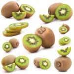 Collection of fresh kiwi — Stock Photo #8454828