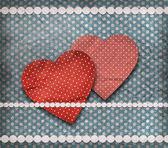 Tebrik kartı, sevgililer günü kartı — Stok fotoğraf