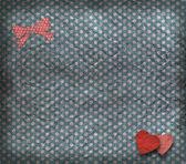 Vintage textura, Valentýnské přání — Stock fotografie