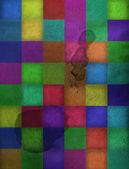 Vintage kağıt kökenli renkli kareler — Stok fotoğraf