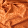 Orange satin, brocade — Stock Photo