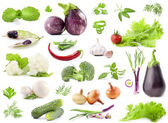 Collection of vegetables — Foto de Stock