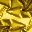 Golden satin texture, brocade - Stock Photo