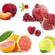 Collection of Fruit — Stock Photo #9824591