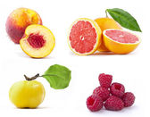 Collection of fresh fruit — Stock Photo