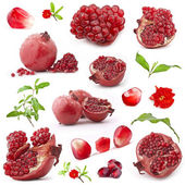 Red pomegranate fruits — Stock Photo