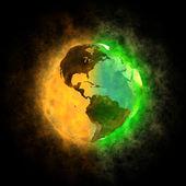 2012 - Transformation of Earth - America — Stock Photo