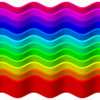 Royalty-Free Stock Photo: Rainbow wave background