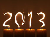PF 2013 - Happy new year 2013 — Stock Photo