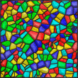 Stained glass colorful — 图库照片