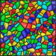 Stained glass colorful — Foto Stock