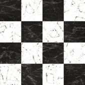 Marble checkerboard floor — Stock Photo