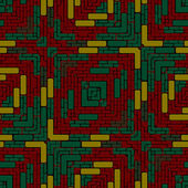 Tiled floor RGB — Stock Photo