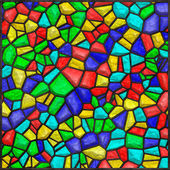 Stained glass colorful — Stock Photo