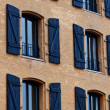 Old building with windows in a row — Stock Photo #7980367