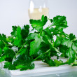 Parsley green — Stock Photo