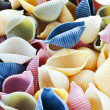 Multi-colored pasta - Stock Photo