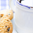 Stock Photo: Cofee and cookies