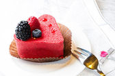 Red cake — Stock Photo